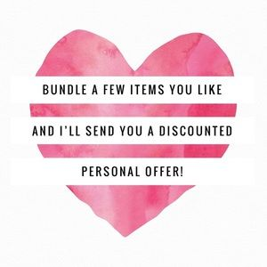 🎁🎁Bundle and save in my closet!!🎁🎁